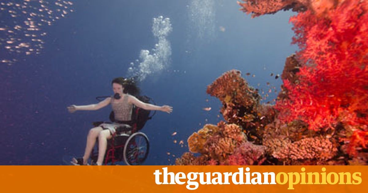 Wheelchair Ballet Underwater Its More Like Flying Than Diving