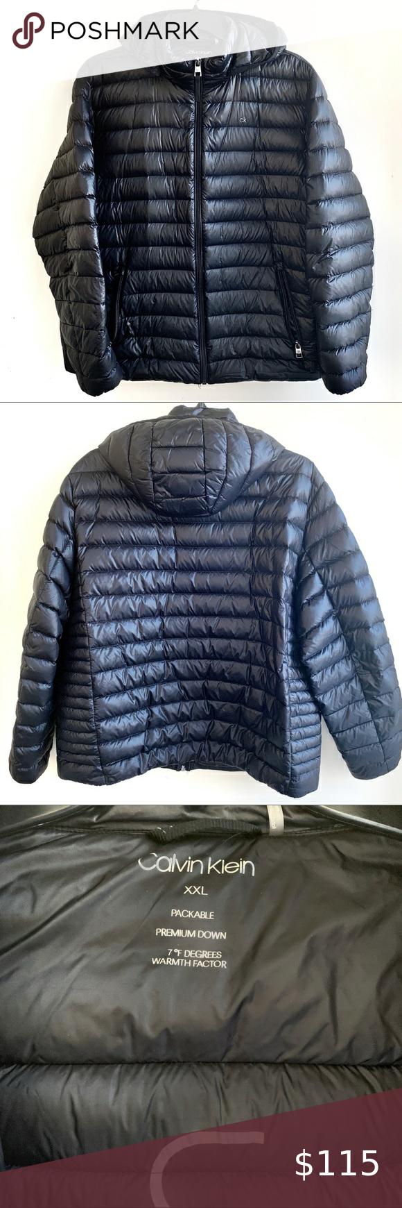 Men S Calvin Klein Packable Down Puffer Jacket Xxl Puffer Jackets Calvin Klein Calvin [ 1740 x 580 Pixel ]