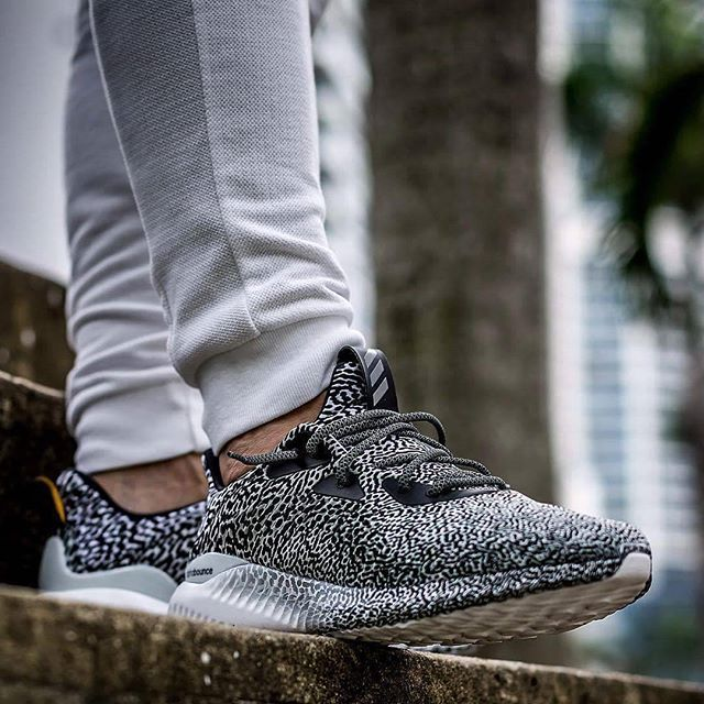 new style ae950 bbc28 hypefeet adidas AlphaBOUNCE Core BlackIron MetallicClear Grey. Photo  jeyr3