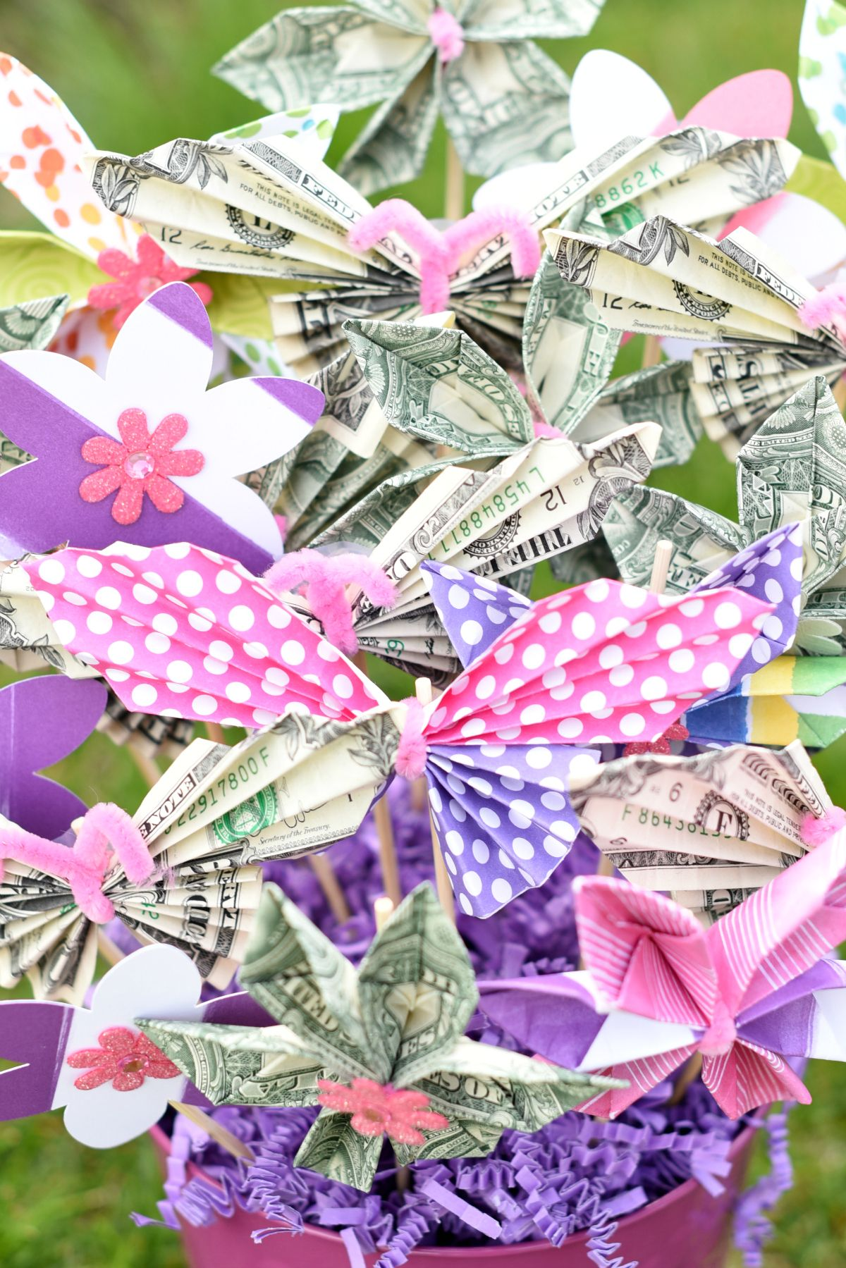 How to Make a Money Bouquet | Gifts | Money bouquet, Money ... - photo#36