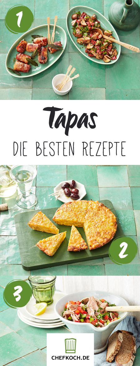 Tapas - Rezepte für das spanische Fingerfood #interessen