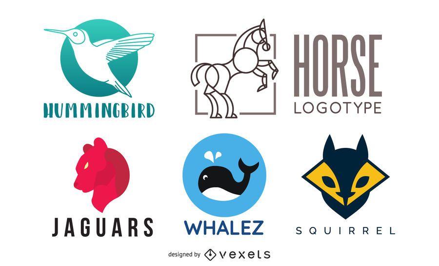 Animal Logo Pack 01 #AD , #affiliate, #affiliate, #Pack, #Animal, #Logo