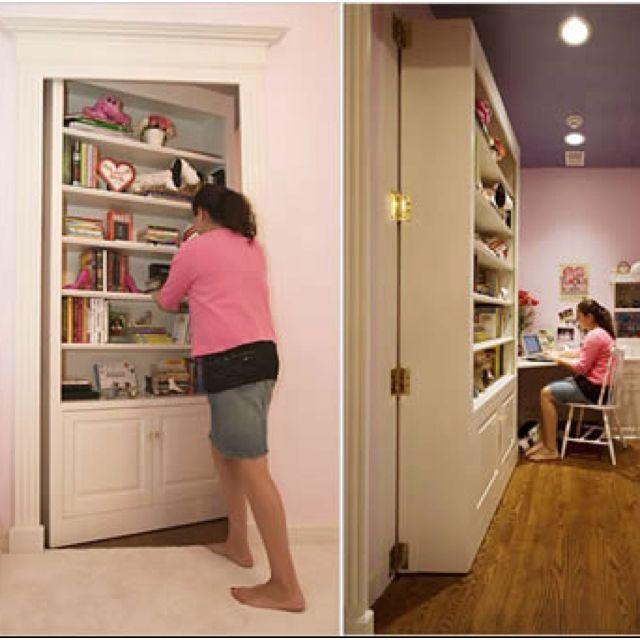 Every kids dream...a secret room