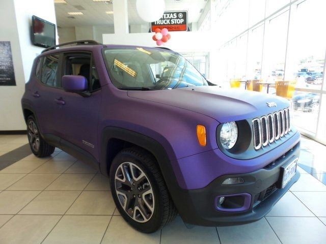 2016 Jeep Renegade Latitude Fwd Suv Jeep Renegade Jeep Purple Jeep