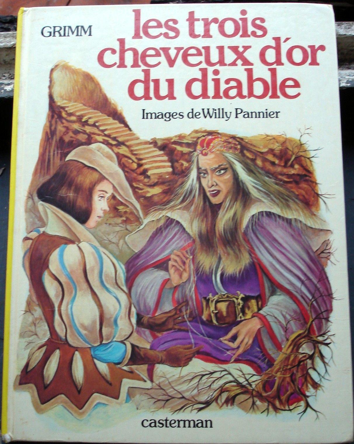 Les Trois Cheveux D Or Du Diable : trois, cheveux, diable, Illustrations, Jeunesse, France