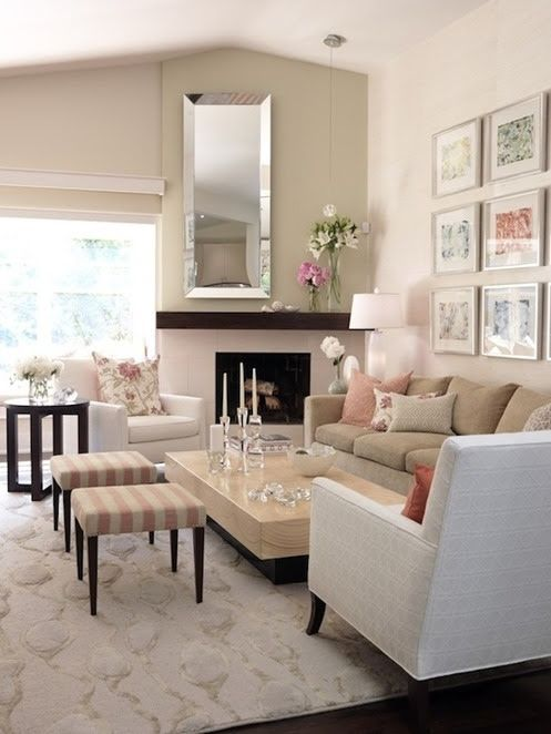 sarah richardson wood mantel Decor Ideas Pinterest Living Room