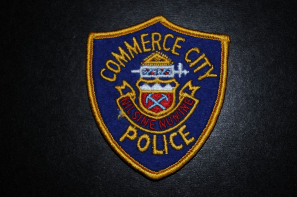 Commerce City Co Official Website Police Police Police Patches Commerce City