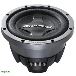 Pioneer Ts W3002d4 12 In Champion Series Pro Subwoofer With 3500 Watts Subwoofer Car Subwoofer Car Audio Systems