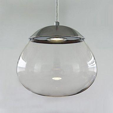 modern contemporary pendant lighting. [$40.49] Modern Globe 1 Light Pendant Modern Contemporary Pendant Lighting