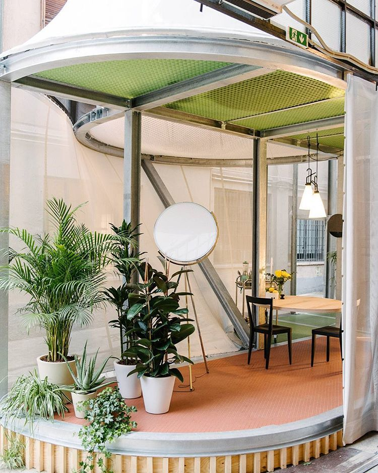Freunde Von Freunden Fvonf On Instagram Breathing Room This Adaptable Installation Suggests Home Solutions For A L Architecture Urban Living Porch Garden