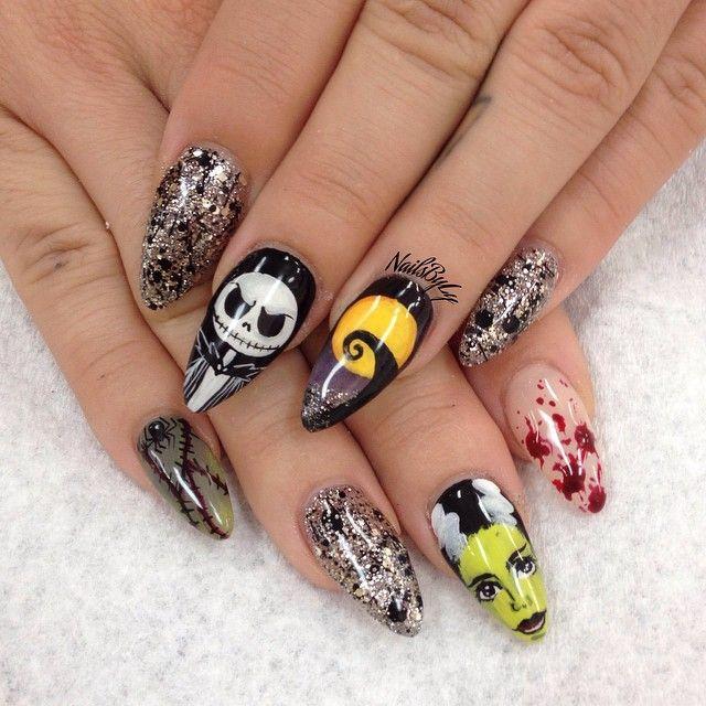 Pin by Rachel Lewis on Autumn/Halloween/Thanksgiving Nail ...