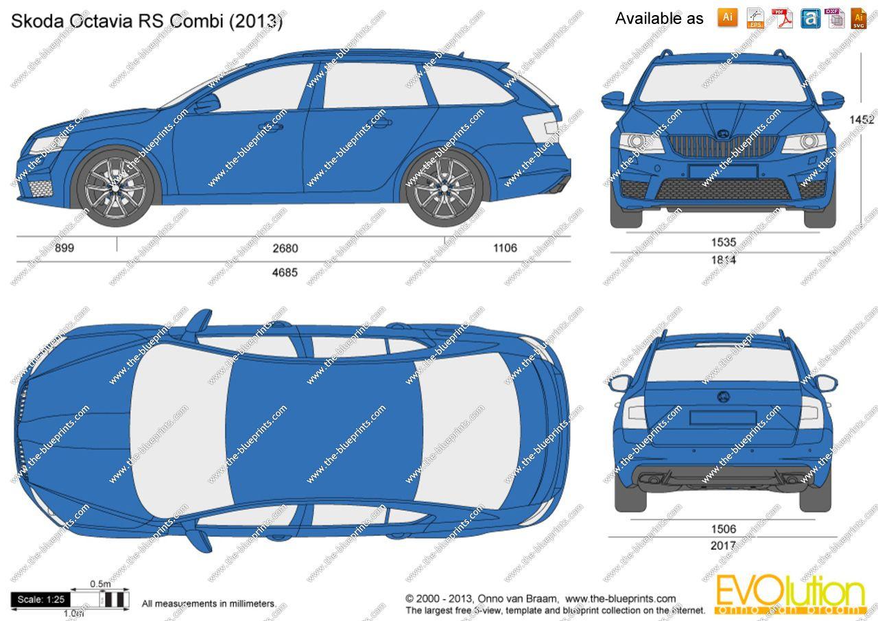 Skoda Octavia RS Combi 2015 | Idée covering | Pinterest