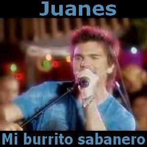 Acordes D Canciones: Juanes - Mi burrito sabanero