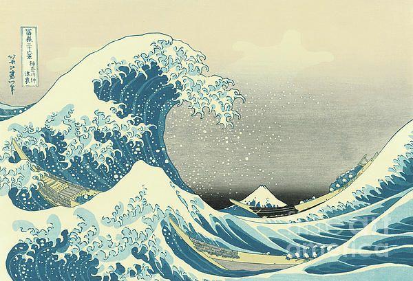 Beneath the Wave off Kanagawa by Hokusai
