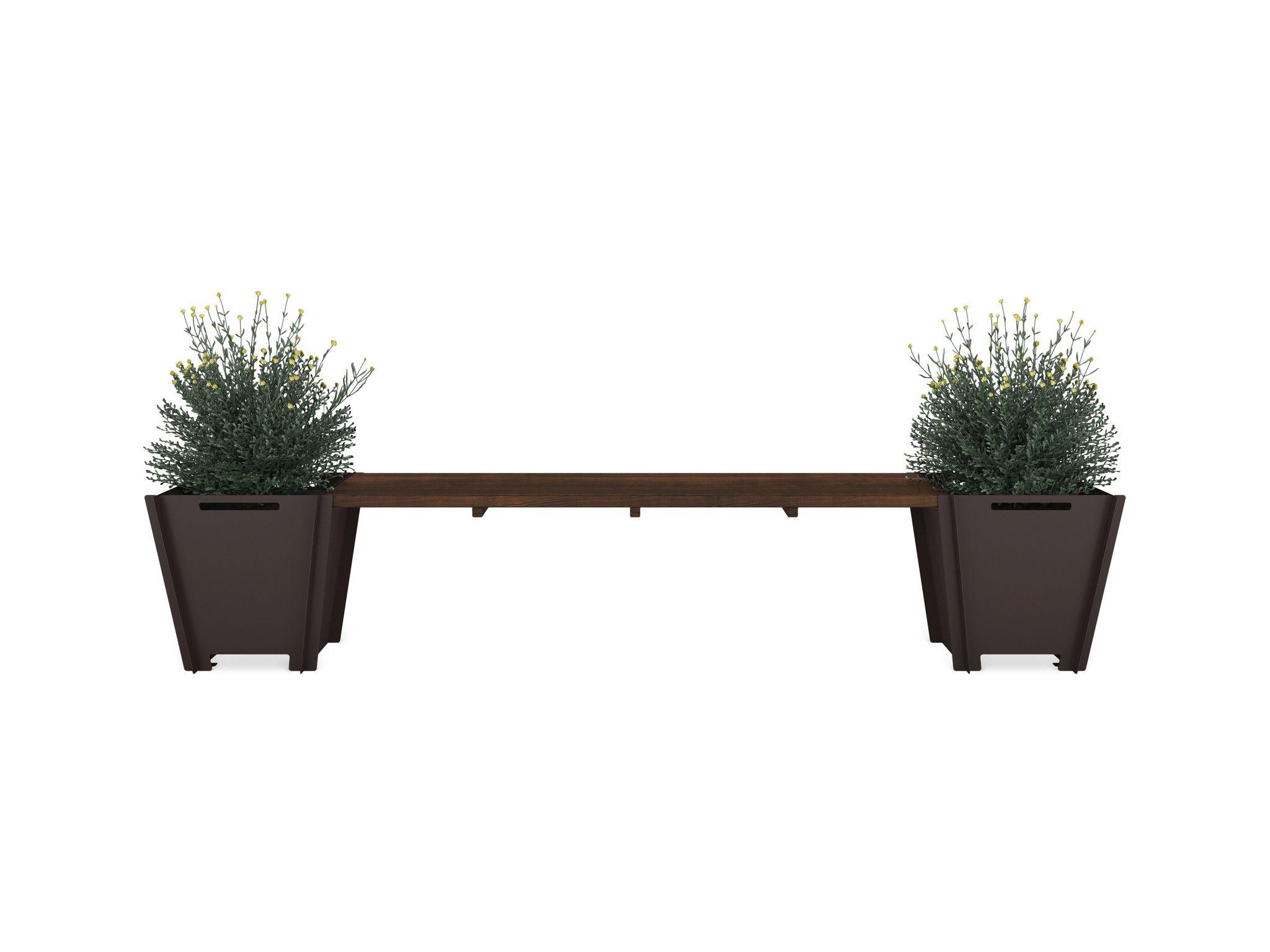 Planter Bench Outdoor Kitchen Design