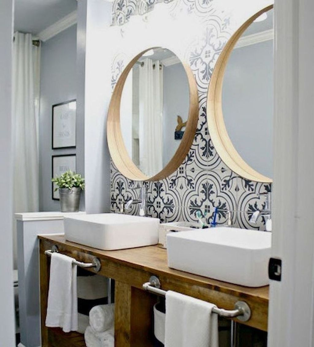 47 Awesome Scandinavian Bathroom Ideas You Will Totally