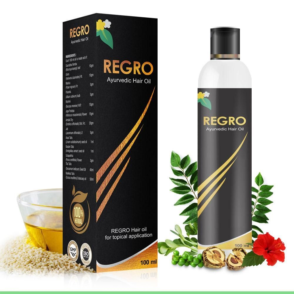 REGRO is an Ayurvedic Medicated Hair Oil is Highly