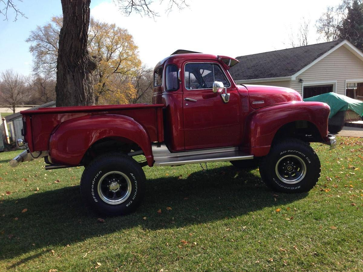 1951 chevrolet 3100 4x4 on a 1976 chevy blazer 1 ton chassis