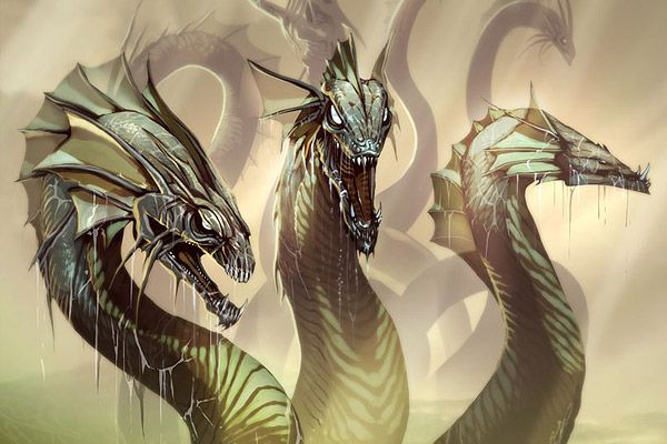 45 Epic Dragon Art Pictures Greek Monsters Hydra Mythology Greek Mythological Creatures
