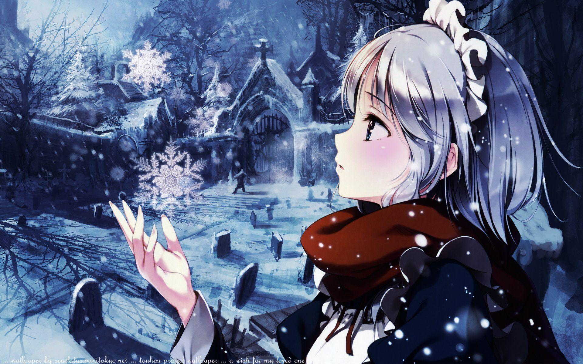 anime touhou sakuya izayoi wallpaper | 東方 (touhou project