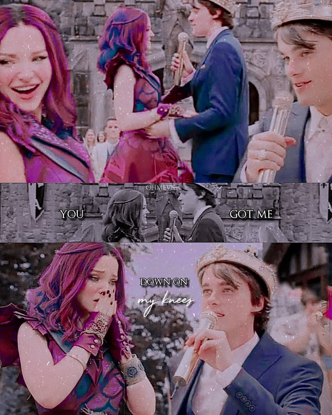 """ana <3 on Instagram: """"ben was so smooth and so pure and just so in love in this scene #d3 #descendants3 #descendants #bal"""""""