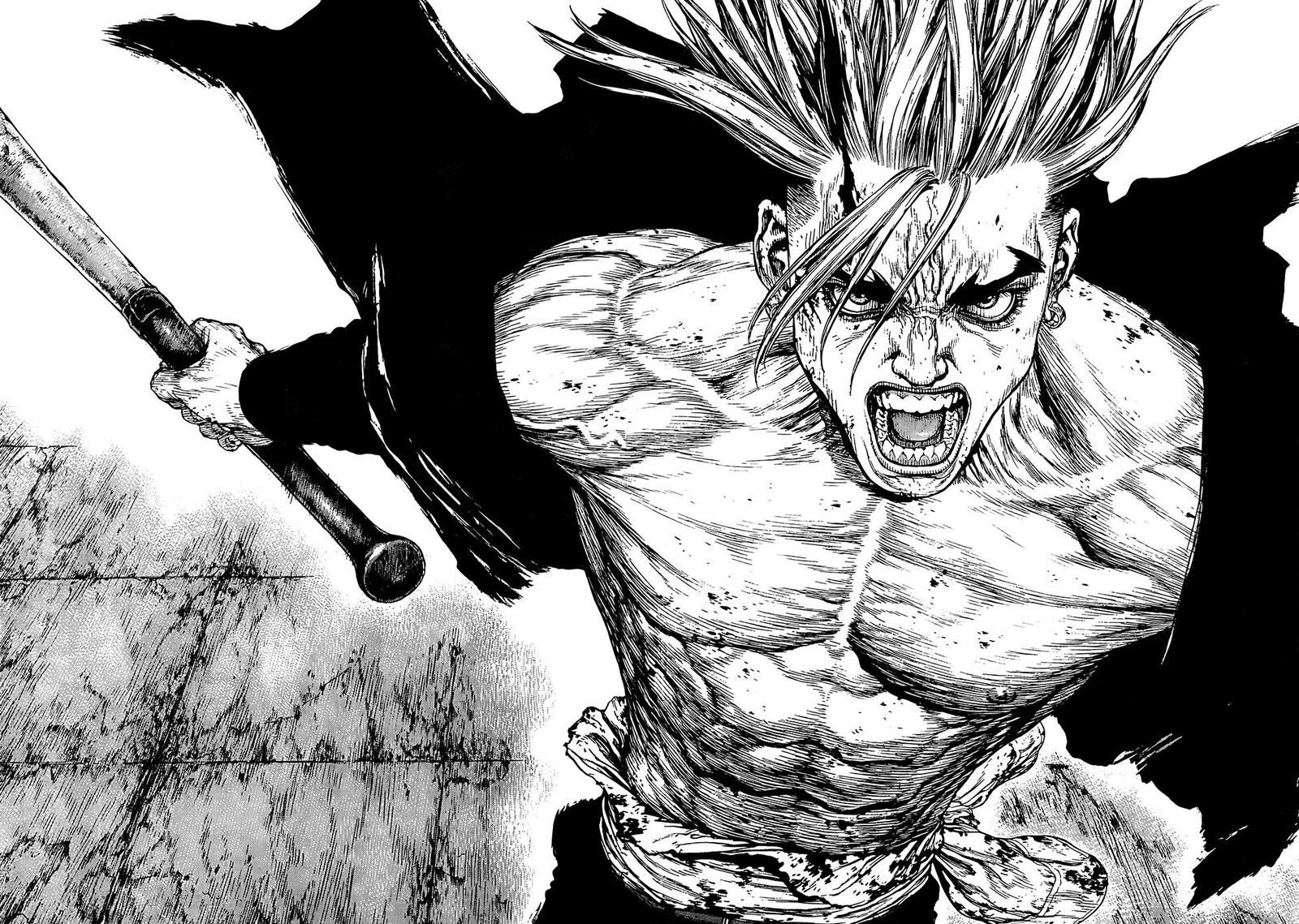Image result for sun ken rock manga
