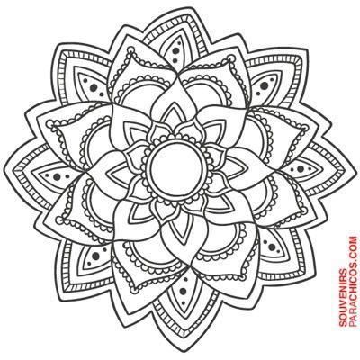 Mandalas Para Colorear Mas Dibujos De Mandalas En 2020