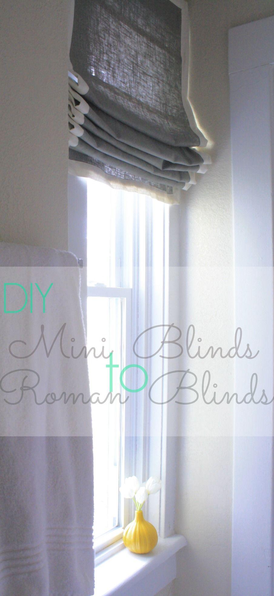 roman window pin pinterest blinds diy sweetsourmoments projects shade