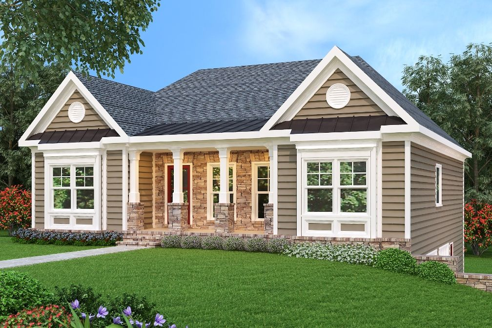 Ranch Plan 1669 Square Feet 3 Bedrooms 2 Bathrooms Rockmart Ranch House Plans Ranch House Remodel Ranch Style Homes