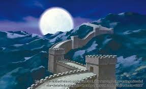 Resultado de imagen para muralla china dibujo