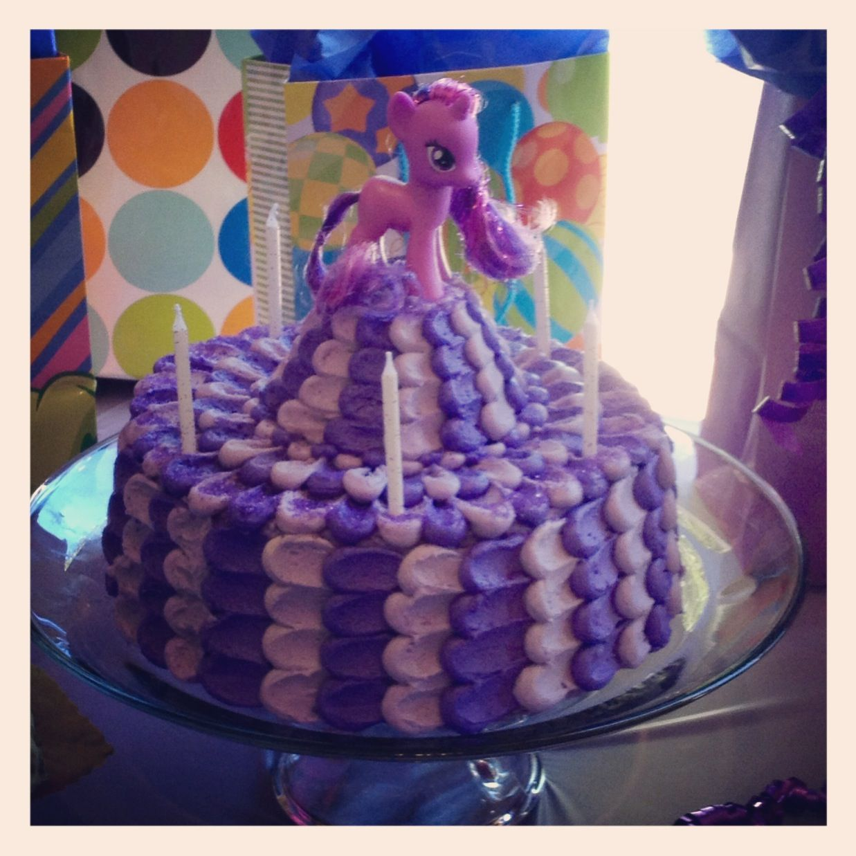 Twilight Sparkle Birthday Cake Birthday