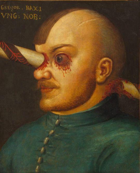 Gregor Baci (eingedeutscht), ungarisch Gergely Paksy[1] (* 16. Jahrhundert; † 16. Jahrhundert) war ein ungarischer Edelmann, der eine schwere Kopfverletzung durch eine Lanze erlitt, die er der Überlieferung nach noch um ein Jahr überlebt haben soll. Sein Schicksal ist unter anderem durch ein Porträt eines unbekannten deutschen Malers in der Kuriositätensammlung des Erzherzogs Ferdinands II. in Schloss Ambras, Österreich überliefert.