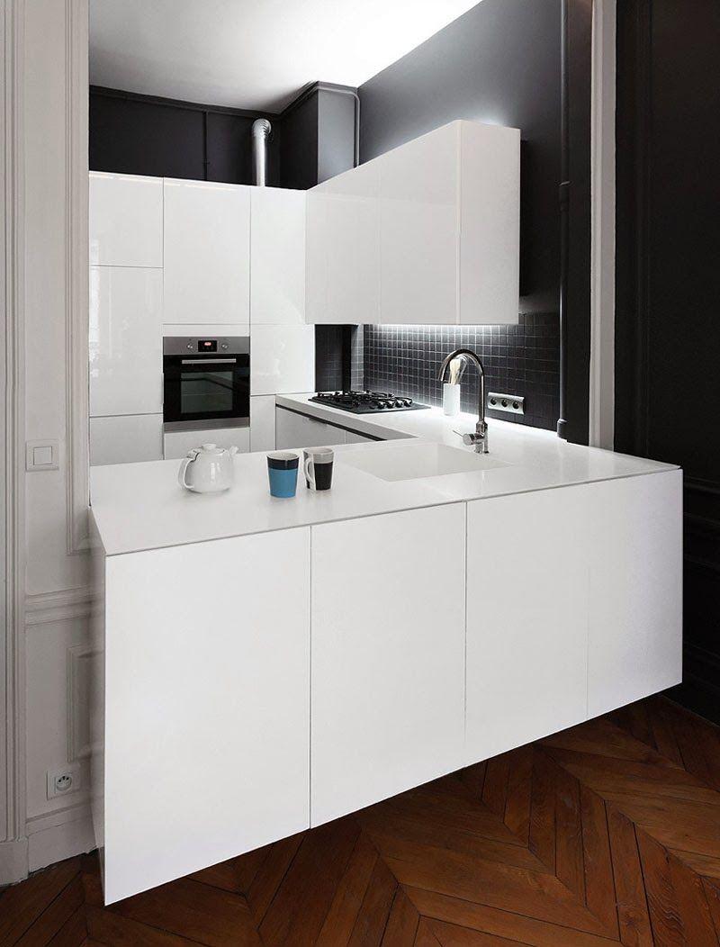 Nuovo Layout Per Appartamento A Parigi For The Home Pinterest # Nuovo Muebles Cocina
