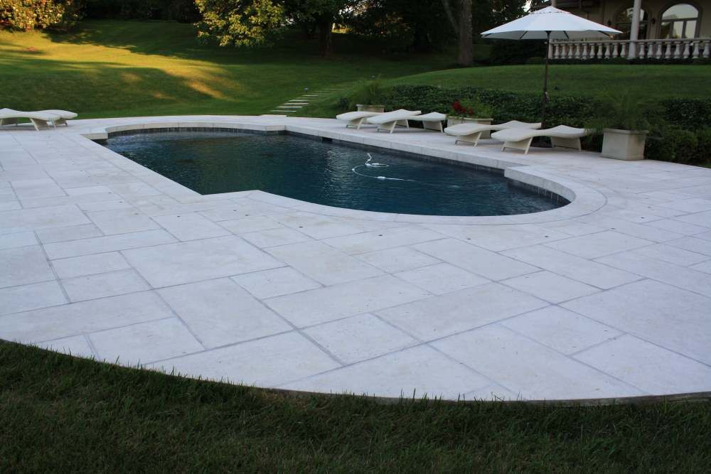 Tiles And Pavers Hartstone Tile Pool Surrounds