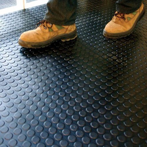Rubber Matting Flooring Rolls Non Slip Durable Rubber Flooring
