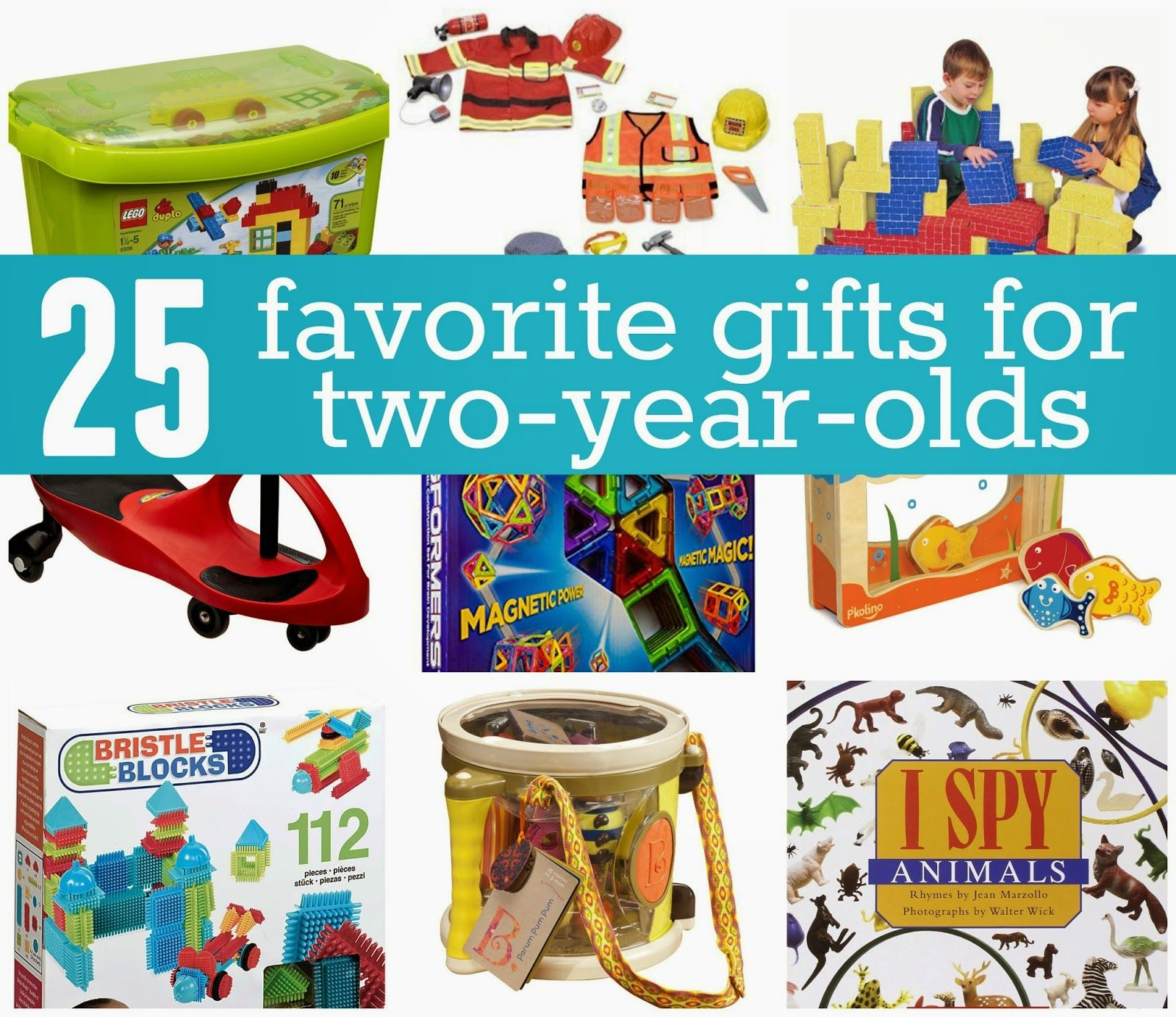 Favorite Gifts for 2 Year Olds