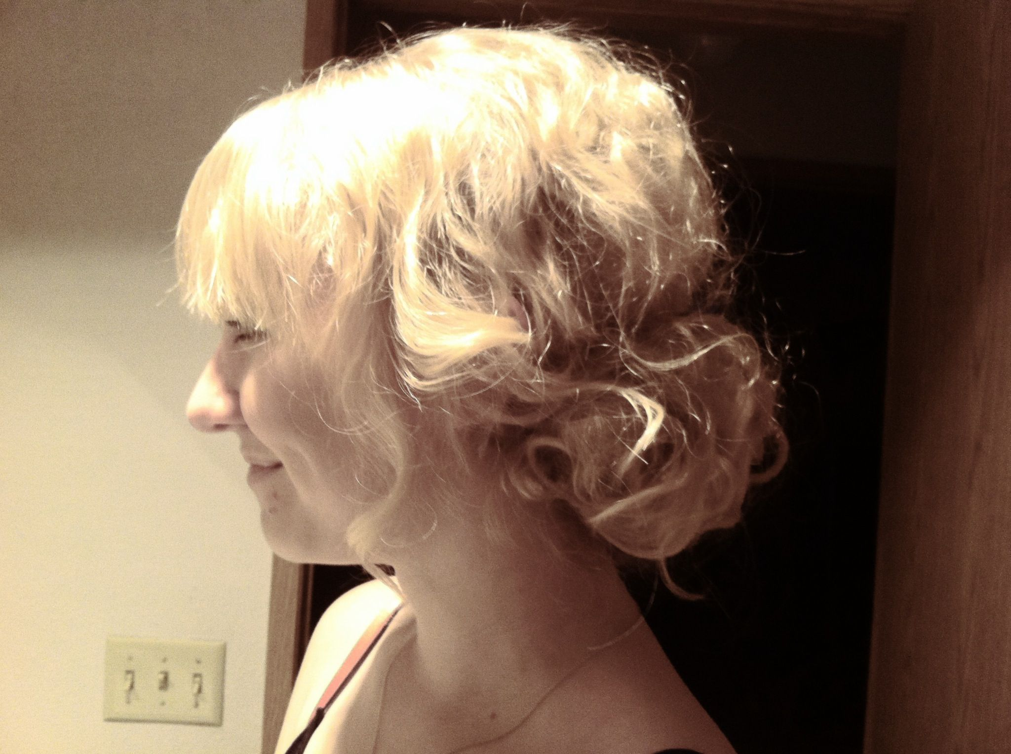 Great look I did for my friend for her school dance! #hairstyles #blondie