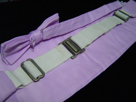 8374794b58352 Transylvanian: The Time Warp - Bow Tie & Cummerbund - Light Purple - The  Rocky Horror Picture Show