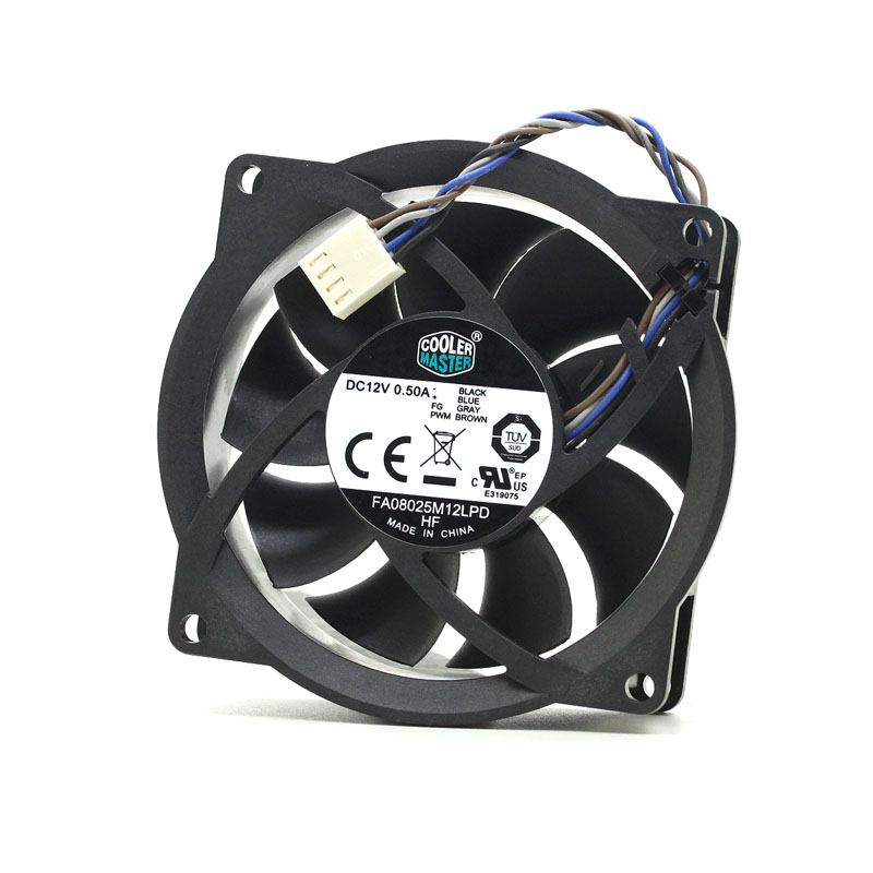 Cooler Master Fa08025m12lpd 12v 0 50a Four Wire Pwm Cpu Cooling