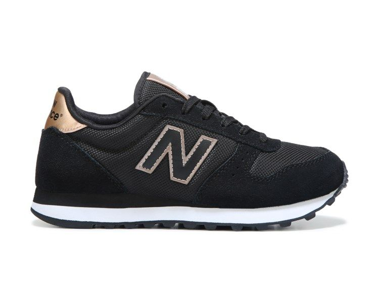 Size 8 black and gold. Complete your retro-sporty look in the New ...