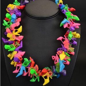 Fab.com   Repurposed Plastic Pumps- necklace!!