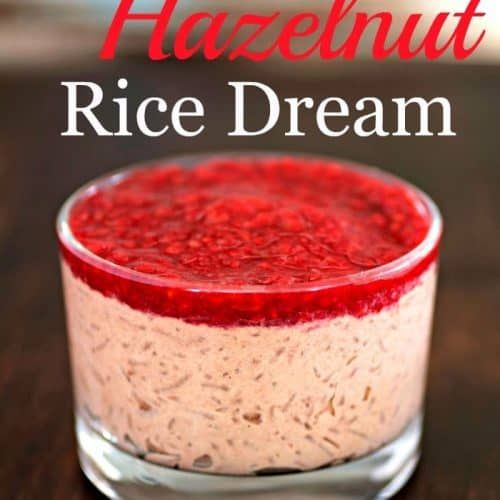 Chocolate Hazelnut Rice Dream | Recipe (With images ...