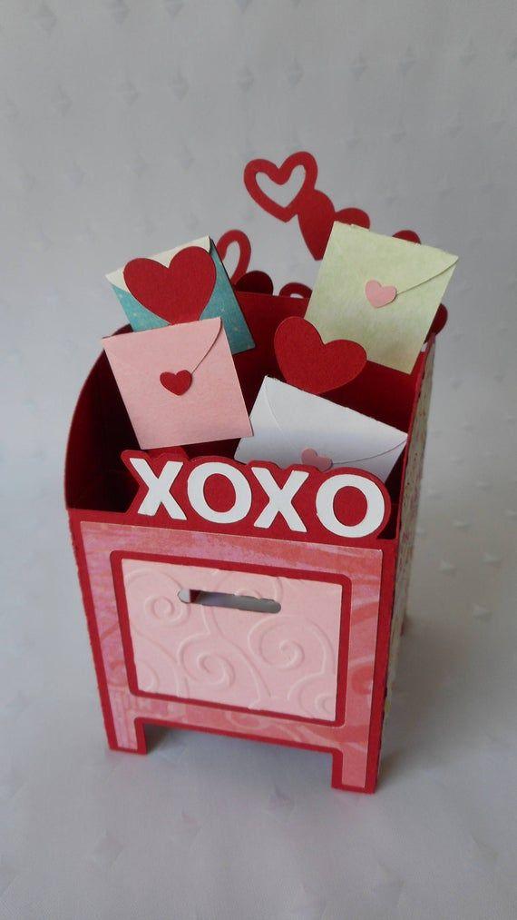 love letters mailbox box card love mail box 3d card