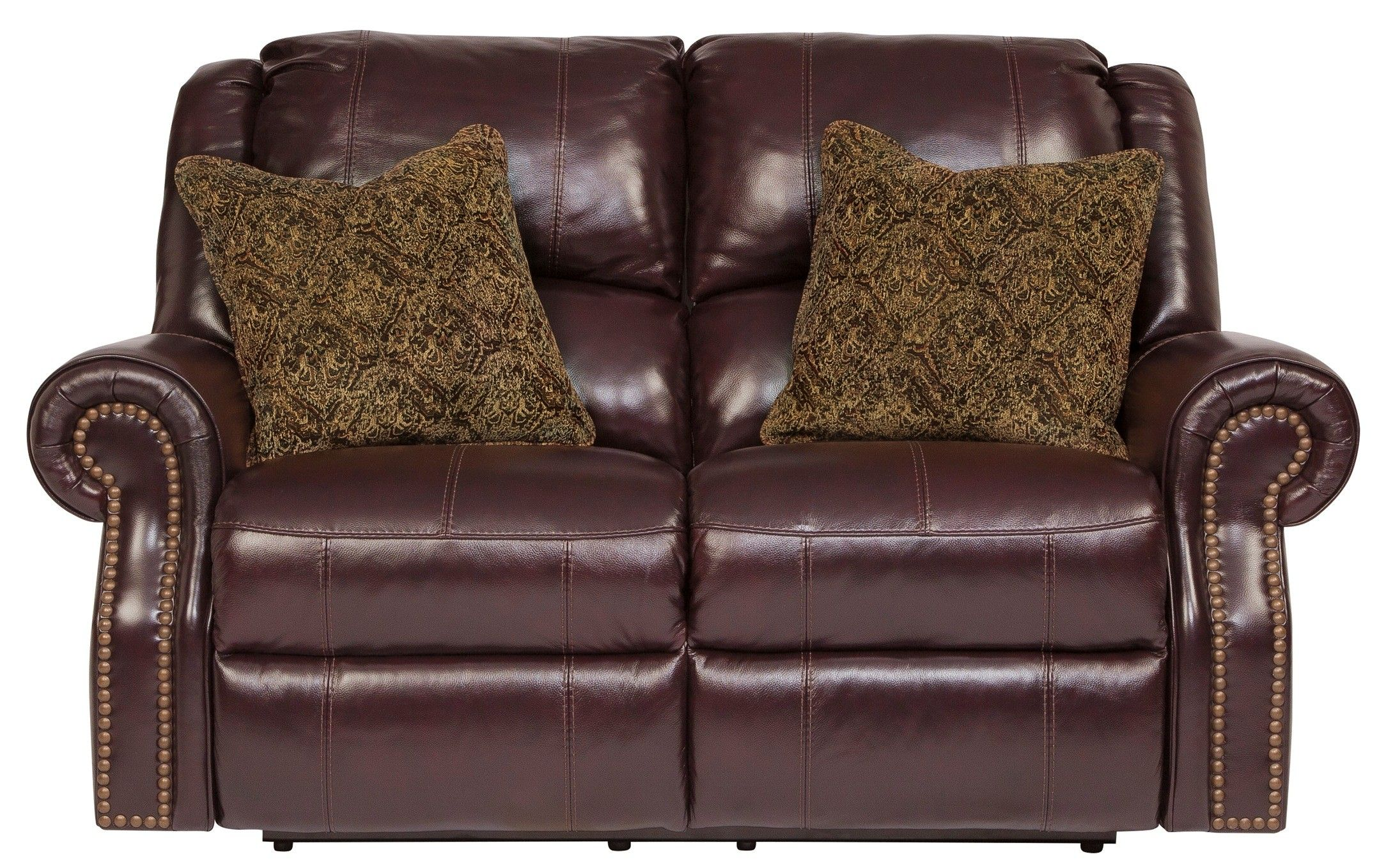 Walworth Blackcherry Reclining Loveseat