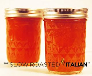 The Slow Roasted Italian: Spiced Peach Jam