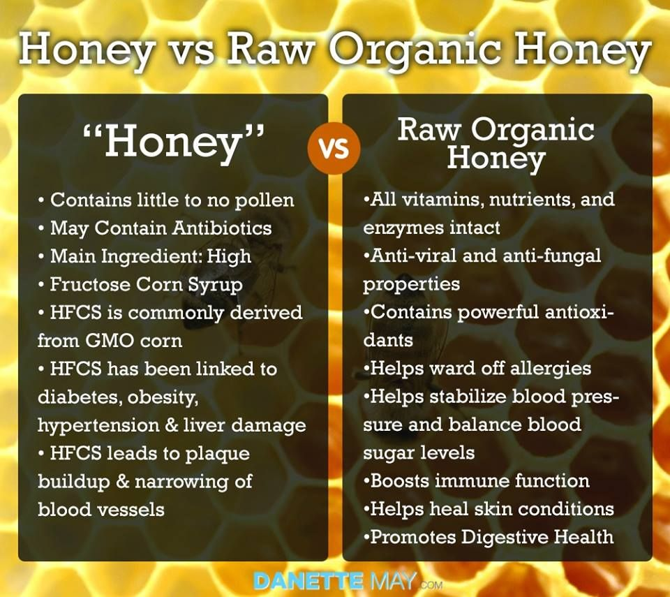 always choose raw, unfiltered, local honey! | organic honey