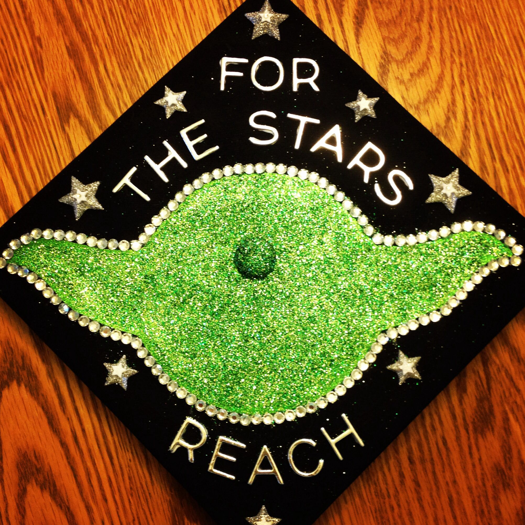 Ucf graduation cap decoration graduation pinterest for Graduation decorations
