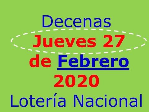 Piramide De La Suerte Decenas Loteria De Panama Jueves 27 De Febrero 2020 Numeros Para Ganar Youtube Youtube Interactive Domingo
