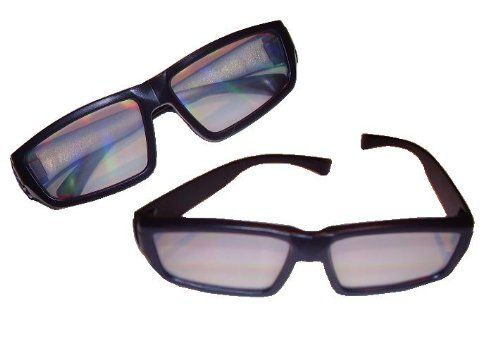 Diffraction Glasses - 50 Pair - for Fireworks, Holiday Lights, Raves - Listing price: $199.99 Now: $129.99