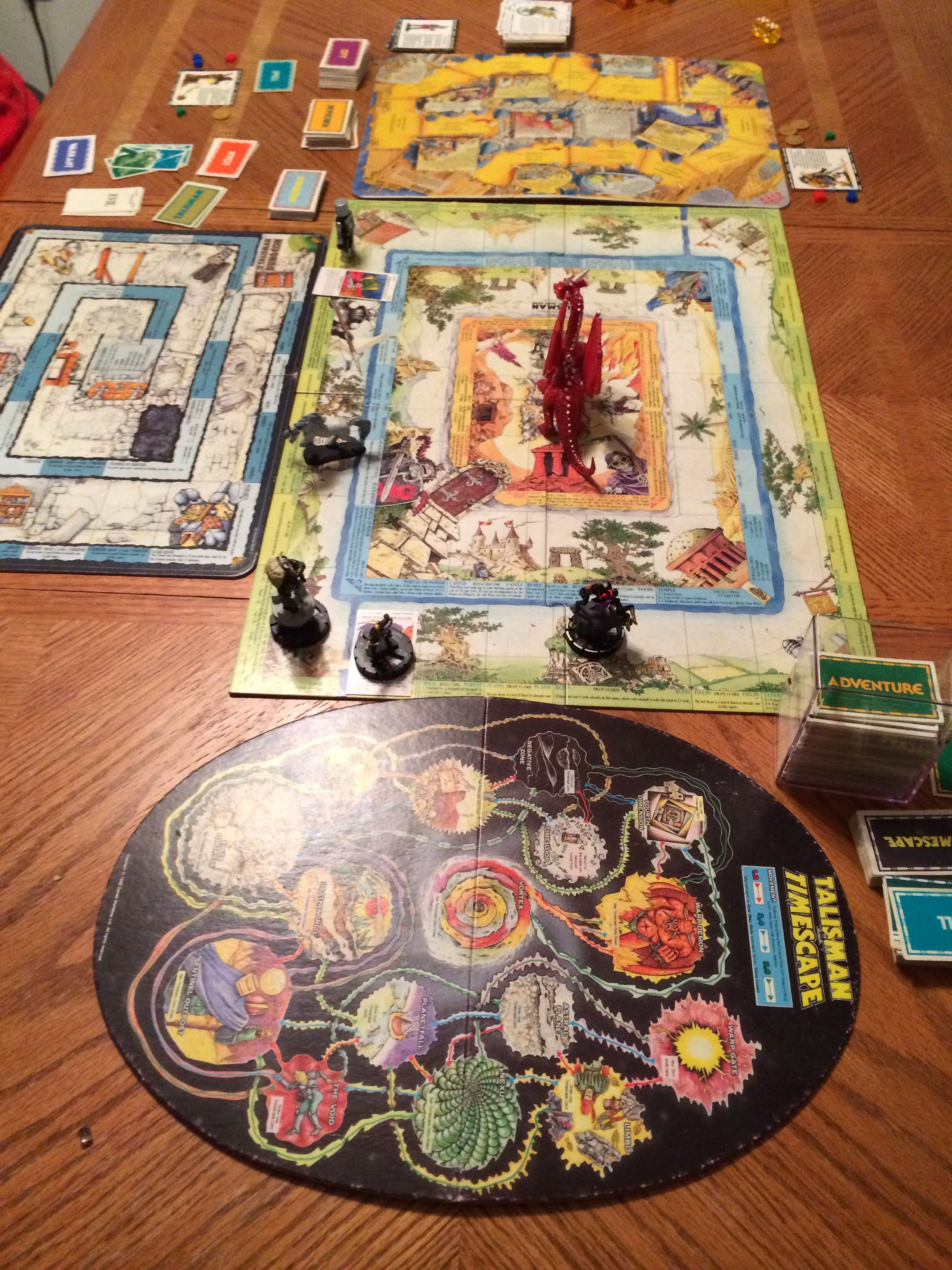 Talisman (Second Edition). Still the best game in the
